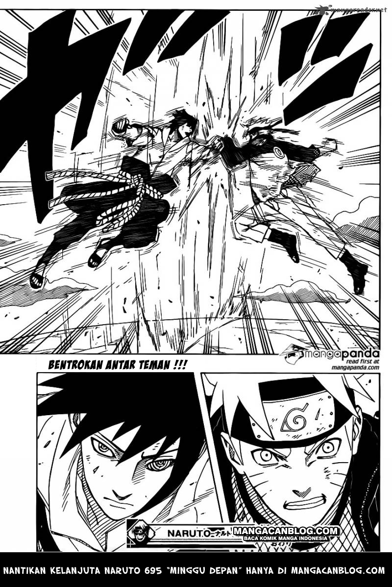 Manga Naruto Chapter 694 Pdf